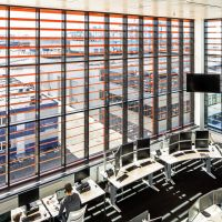 Remote control room, APM office terminal building Rotterdam. Photo: Nelleke de Vries