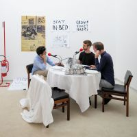 Useful Life podcasts. Dutch Pavilion WORK, BODY, LEISURE. 16th International Architecture Exhibition - La Biennale di Venezia, FREESPACE. Photo: Daria Scagliola