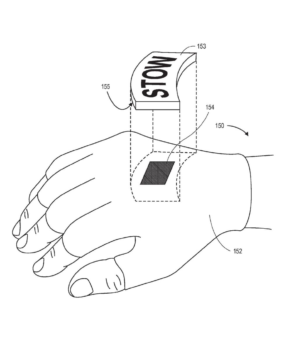 Wearable RFID devices with manually activated RFID tags. Amazon Industries, Inc. Source: European Patent Office (EPO)
